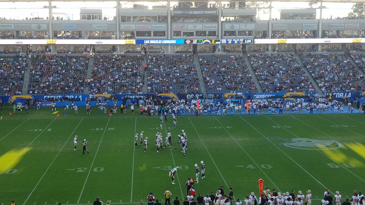 Fancred Sports The Chargers Preseason Attendance At