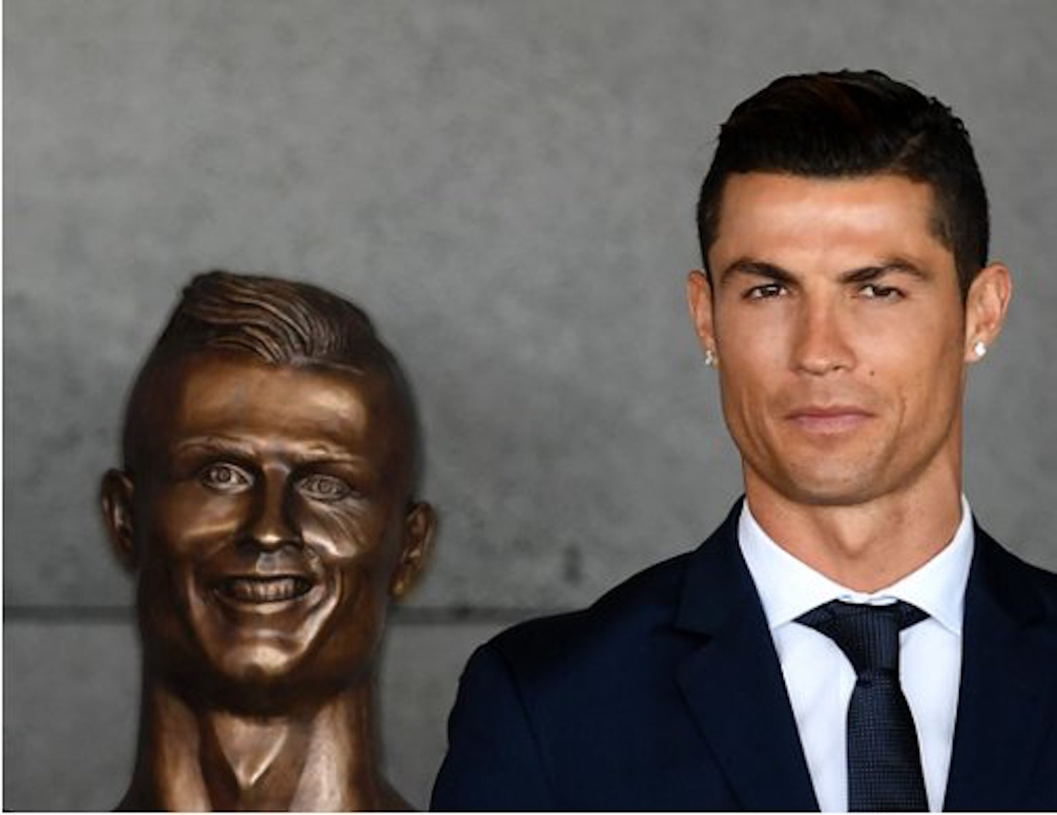7bd7f0eff8c Fancred Sports   Is this Cristiano Ronaldo bust the worst sports sculpture  ever