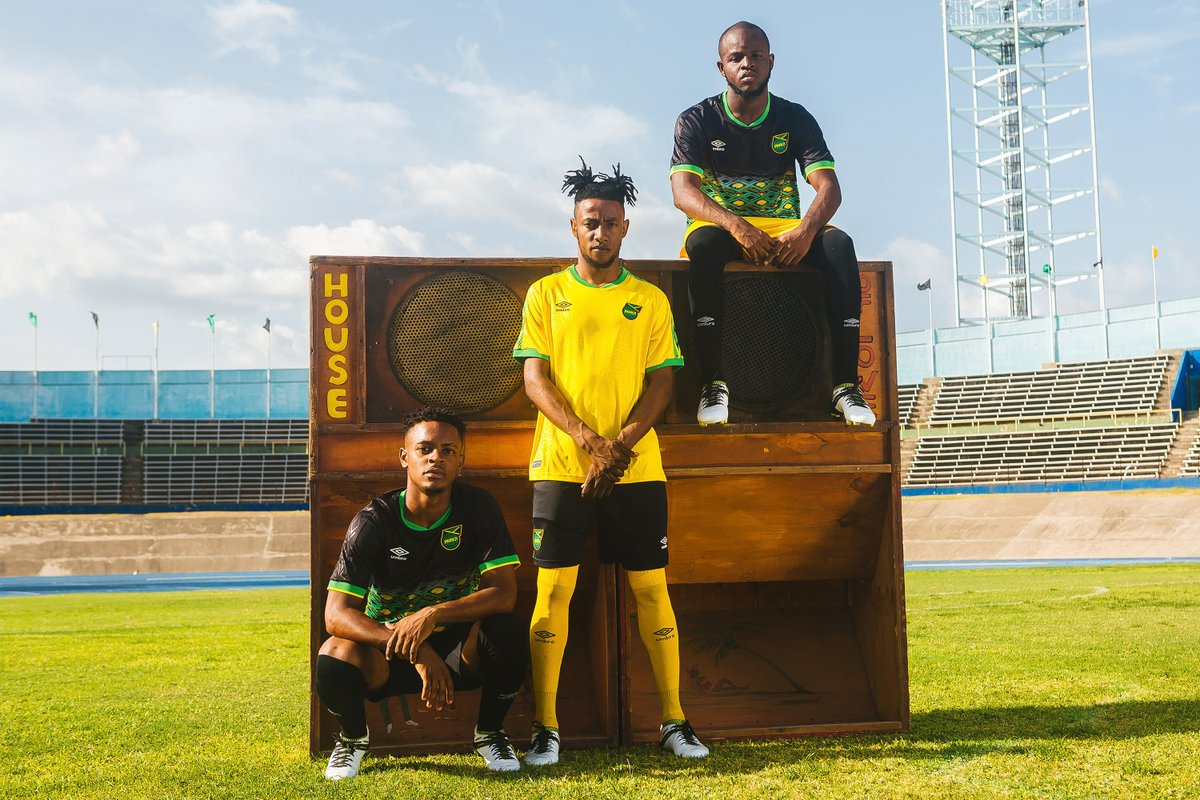 cheap for discount 433f9 bd7ce Fancred Sports : Jamaican National Team unveils new soccer ...